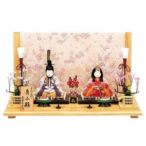 雛人形 木目込み 真多呂作のコンパクトひな人形