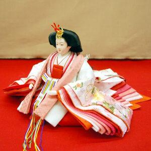 高級 雛人形 収納飾り 親王セットのひな人形