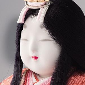 雛人形 木目込み 真多呂作のひな人形