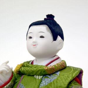五月人形コンパクトおしゃれ初節句飾り