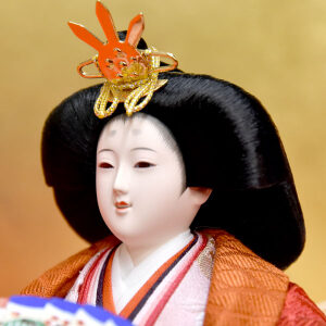 雛人形 親王飾り 刺繍入り 組立飾りのセット JIN雛 ひな人形