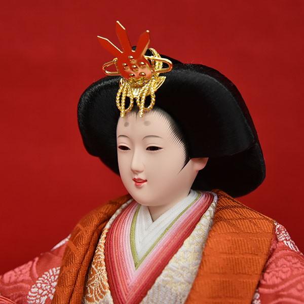 人形(ひな人形)コンパクト収納飾りJIN雛シリーズ