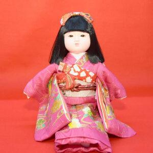 市松人形(抱き人形)