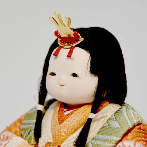 雛人形 木目込み 幸一光作のひな人形